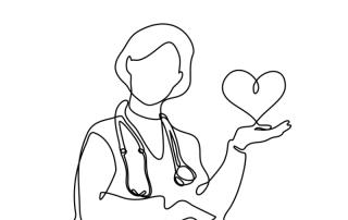Gynaecoloog met een hart